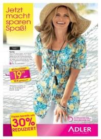 Adler Jetzt macht sparen Spaß Juli 2012 KW27