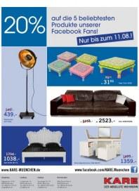 Kare 20% auf die 5 beliebtesten Produkte August 2012 KW31