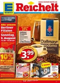 Edeka Wir lieben Lebensmittel auch am Sonntag August 2012 KW31