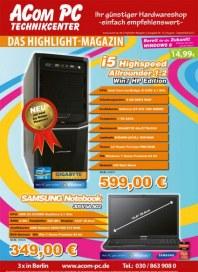 Acom PC Das Highlight-Magazin August 2012 KW32