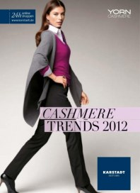 KARSTADT Cashmere Trends August 2012 KW32 1