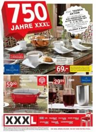 XXXL Geschirr-Tauschaktion August 2012 KW32