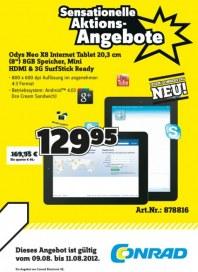 Conrad Sensationeller Donnerstags-Deal August 2012 KW32
