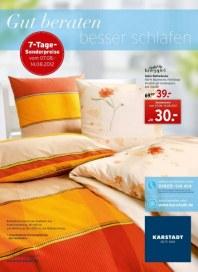 KARSTADT Matratzen und Bettwaren 2 August 2012 KW32