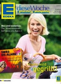 Edeka Heute wird gegrillt August 2012 KW33