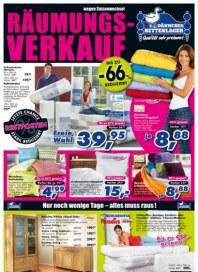 Dänisches Bettenlager Räumungsverkauf August 2012 KW32