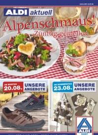 Aldi Nord Alpenschmaus August 2012 KW34