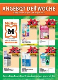 Müller Angebot der Woche August 2012 KW33