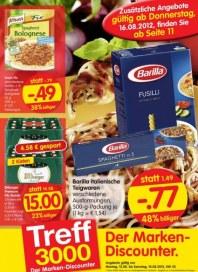 Edeka Treff 3000 - Aktuelle Angebote August 2012 KW33 1