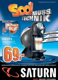 Saturn Hauptflyer / Zeitungseinleger August 2012 KW32 1