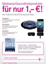 Telekom Shop Medisana Gesundheitsprodukte August 2012 KW33 1