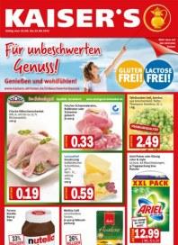 Kaiser's Für unbeschwerten Genuss August 2012 KW34