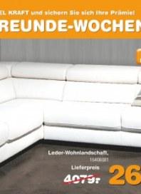 Möbel Kraft Gute-Freunde-Wochen August 2012 KW34