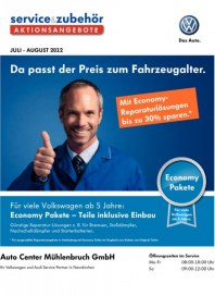 Volkswagen Aktionsangebote für den schönsten Sommer 2012 Juli 2012 KW26