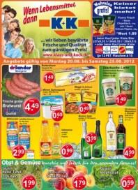 K+K - Klaas & Kock Wenn Lebensmittel, dann K+K August 2012 KW34 2