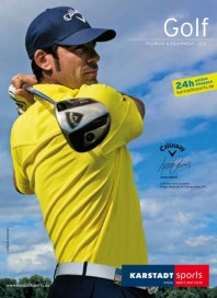 Karstadt Sports Golf Fashion & Equipment 2012 März 2012 KW09