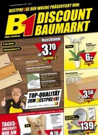 B1 Discount Baumarkt Hauptflyer August 2012 KW33 2