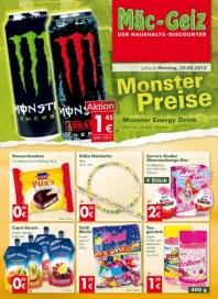 Mäc-Geiz Monster Preise August 2012 KW34
