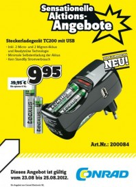 Conrad Sensationeller Donnerstags-Deal August 2012 KW34 2