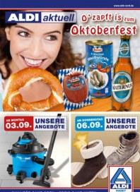 Aldi Nord O zapft is zum Oktoberfest September 2012 KW36