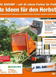 HKL Baumaschinen Gute Ideen für den Herbst 2012 September 2012 KW35