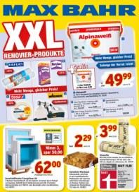 Max Bahr XXL Renovier-Produkte August 2012 KW35