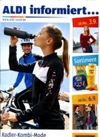 Aldi Süd Radler-Kombi-Mode für Herbst & Winter September 2012 KW36