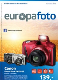 Europafoto Angebote August 2012 KW35