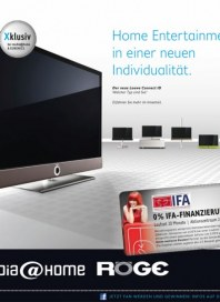 media@home Home Entertainment in einer neuen Individualität August 2012 KW35