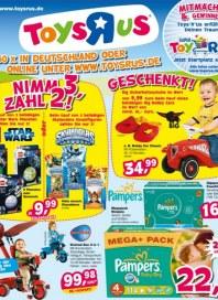 Toys'R'us Nimm 3 , zahl 2 August 2012 KW35