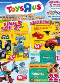 Toys'R'us Nimm 3, zahl 2 August 2012 KW35