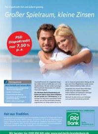 PSD Bank Großer Spielraum, kleine Zinsen August 2012 KW35