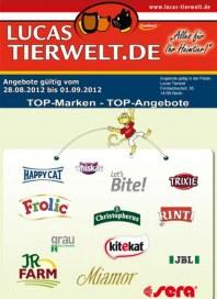 Lucas Tierwelt TOP-Marken - TOP-Angebote August 2012 KW35