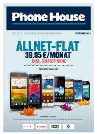 Phone House Alle Netze, alle Handys, riesige Zubehörauswahl August 2012 KW35