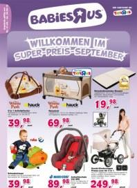 Toys'R'us Willkommen im Super-Preis-September August 2012 KW35