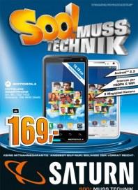 Saturn Soo! Muss Technik September 2012 KW35
