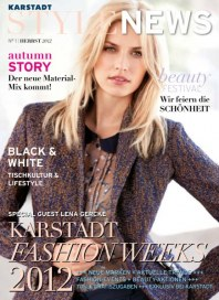 KARSTADT autumn STORY September 2012 KW36