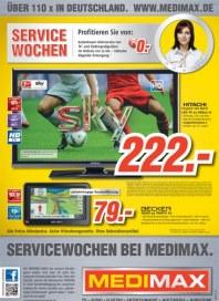 MediMax Servicewochen bei MEDIMAX September 2012 KW36