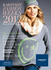 KARSTADT Fashion Weeks September 2012 KW36