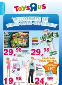 Toys'R'us Willkommen im Super-Preis-September September 2012 KW36