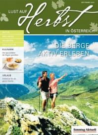 Stuttgarter Zeitung Lust auf Österreich September 2012 KW36