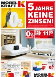 Möbel Kraft 5 Jahre keine Zinsen September 2012 KW36