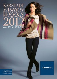 KARSTADT Fashion Weeks 2012 September 2012 KW36