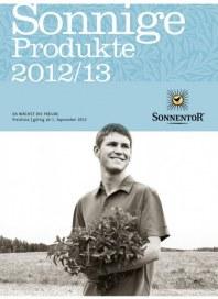 Sonnentor Sonnentor Preisliste 2012/2013 September 2012 KW37