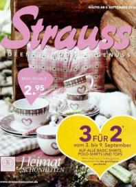 Strauss Innovation Ideen, Mode, Genuss September 2012 KW36