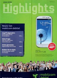 mobilcom Aktuelle Angebote September 2012 KW35