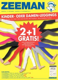 Zeeman 2 + 1 Gratis September 2012 KW37