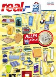 real,- Alles für je 1,- EURO September 2012 KW38