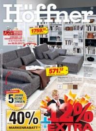 Höffner 12% auf Möbel und Küchen September 2012 KW37