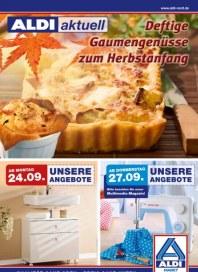 Aldi Nord Gaumengenüsse zum Herbstanfang September 2012 KW39